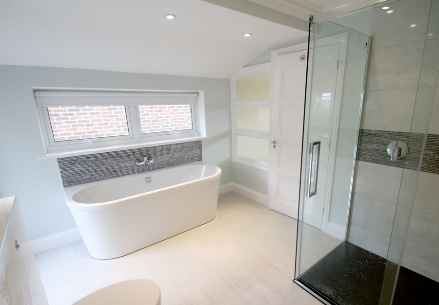 Bathroom Design Kingston bedroom to bathroom conversion in kingston upon thames, surrey