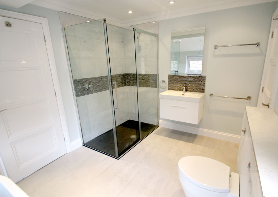 Bedroom to bathroom conversion in kingston upon thames for Bathroom design kingston