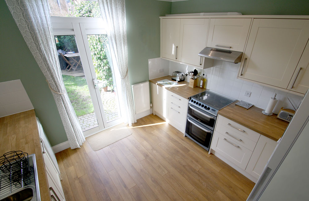 Kitchen Refurbishment And Wood Flooring In Kingston Upon